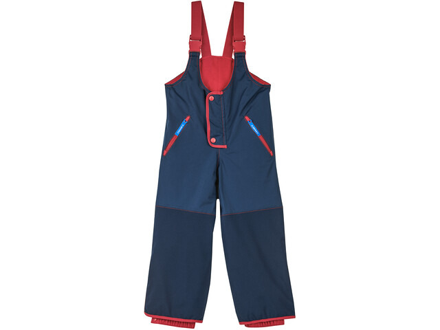 Finkid Kajo Husky Winter Pants Kids navy/red